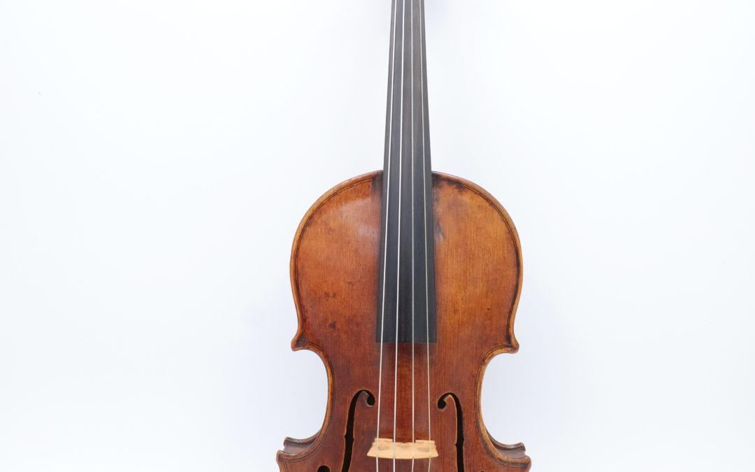 A fine baroque violin, Fuessen 1780