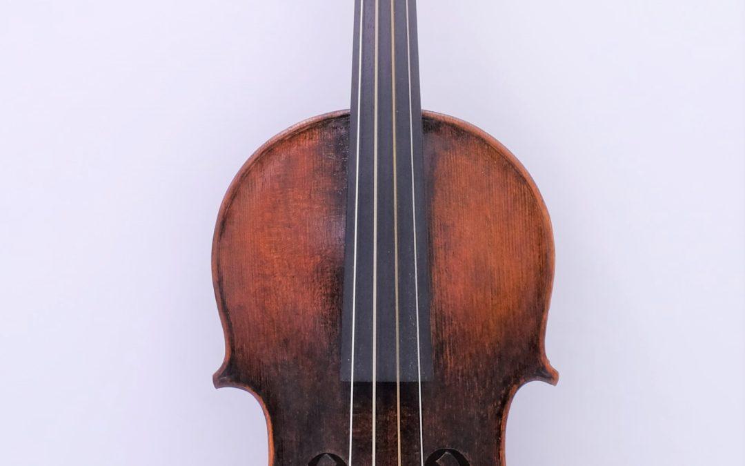 A german baroque violin, around 1820