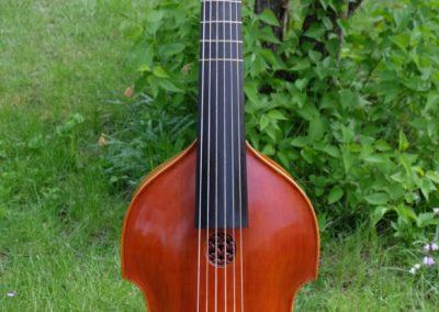 Viola da gamba, made by martin Krause in 1996